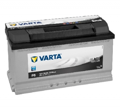 Аккумулятор Varta Black Dynamic 90 Ач 590122072 (F6) О.П.